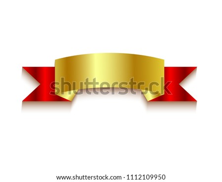 Ribbons banners decor