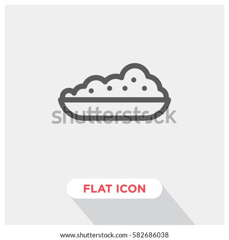 rice food vector icon