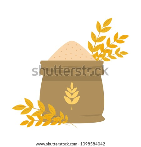 stock-vector-rice-sack-cartoon-vector-free-space-for-text-wallpaper-background-symbol-vector