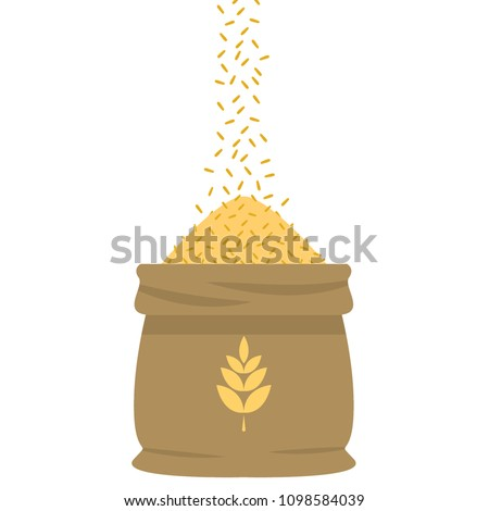 stock-vector-rice-sack-cartoon-vector-free-space-for-text-wallpaper-background-symbol-vector-rice-drop