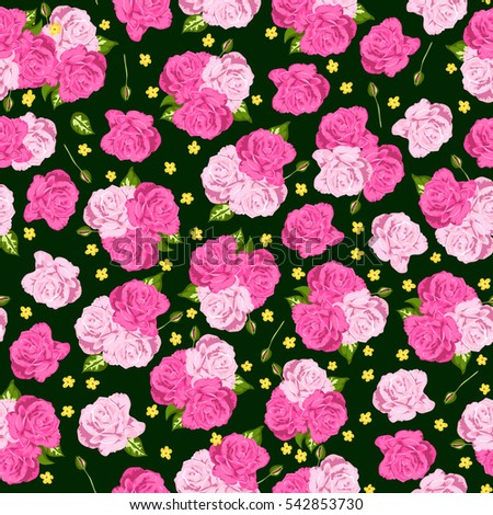rich seamless pattern with