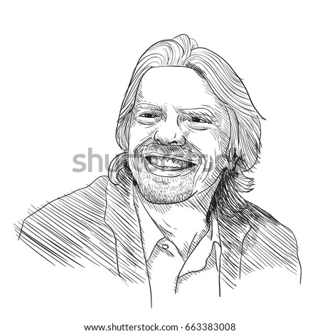 richard branson vector