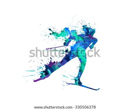 ridge ski course skiing