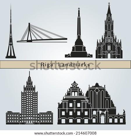 riga landmarks and monuments