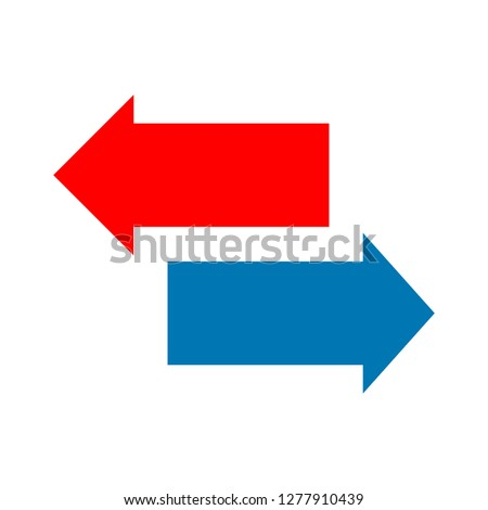 right-arrow icon - right-arrow isolated ,direction symbol illustration- Vector arrows