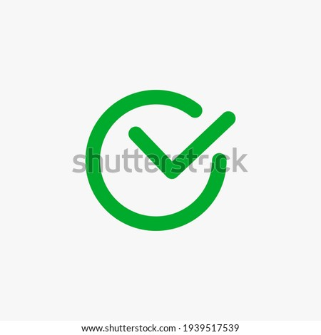 Right sign. line vector icon