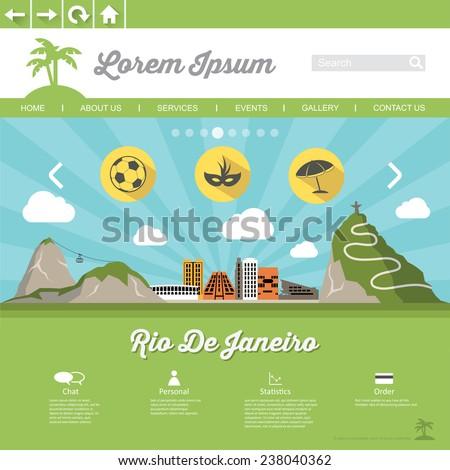 rio de jeneiro web page