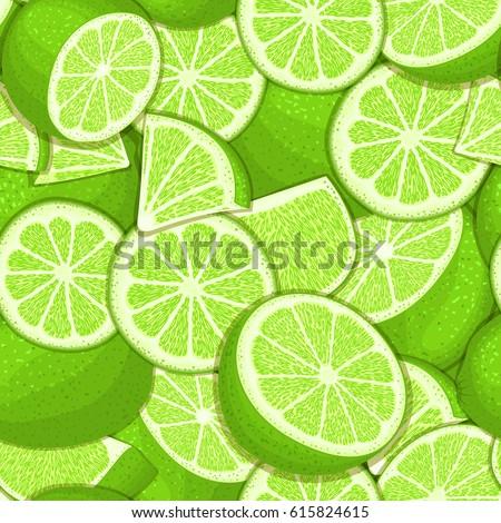 ripe juicy tropical lime