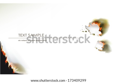 ripped paper background with