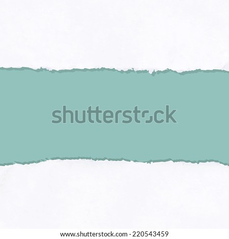 Ripped Paper, Vector Illustration