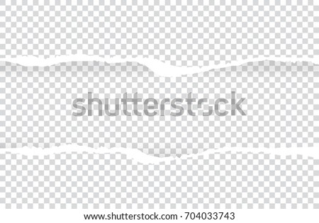 ripped paper vector on