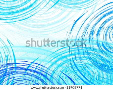 ripple on the water  vector