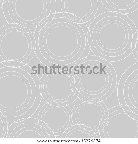 Ripples in the water - seamless pattern
