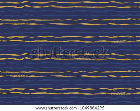 rippling curved stripes