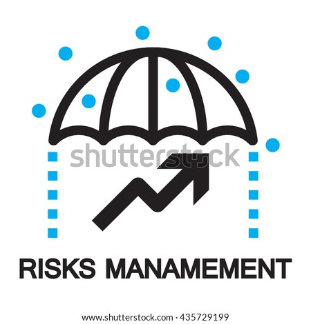 risks management,icon and symbol
