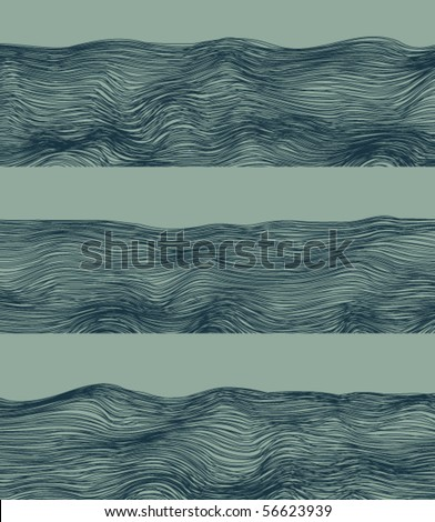 River abstract fringes