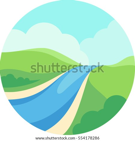 river and nature