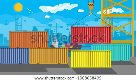 river ocean and sea freight...