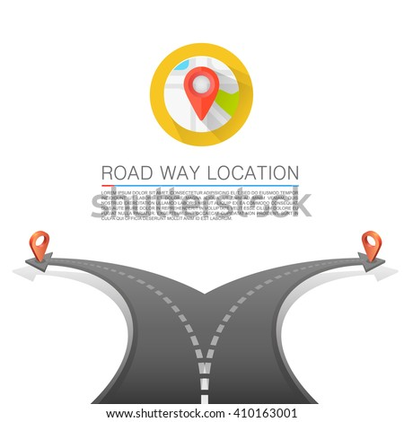 road choice  road arrow cover