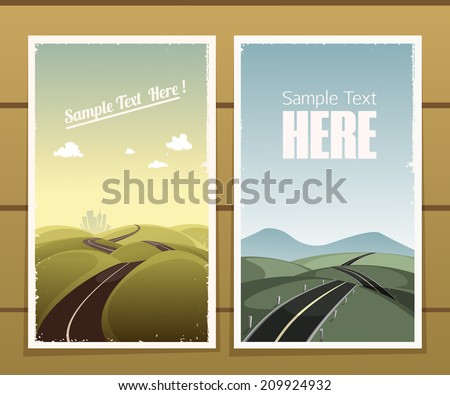 road posters
