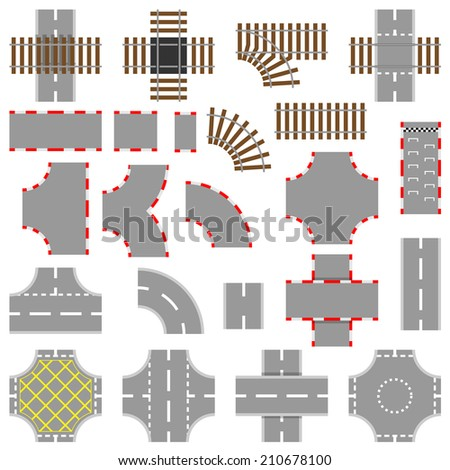 Racing Road Clipart Road Rail And Race Track