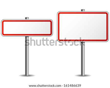 Road sign Photo stock ©