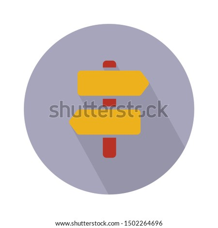 road signboard icon - From Map, Navigation, and Location Icons set