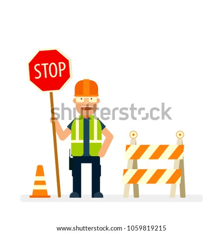 stock-vector-road-worker-holding-stop-sign-flat-character-vector-image-isolated-on-white-background
