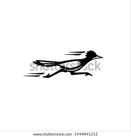 Roadrunner Symbol Logo. Tattoo Design. Vector Illustration. Photo stock ©