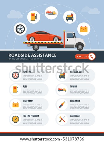 roadside assistance infographic