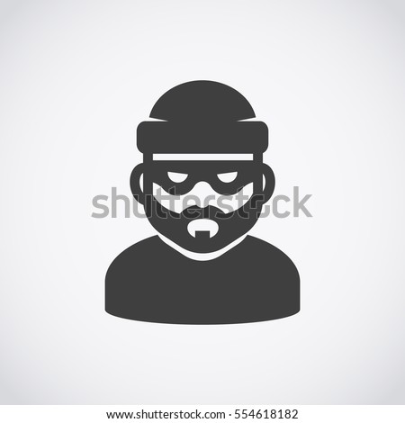 robber icon bandit