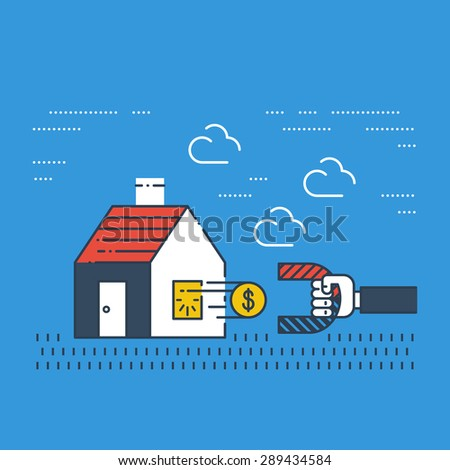 Robbery insurance. Housing expenses. Mortgage subsidy. Rent payments. Сток-фото ©