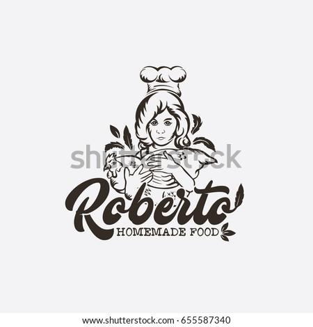 Royalty Free Logo Woman Fitness Dumbbells 411003196 Stock Photo