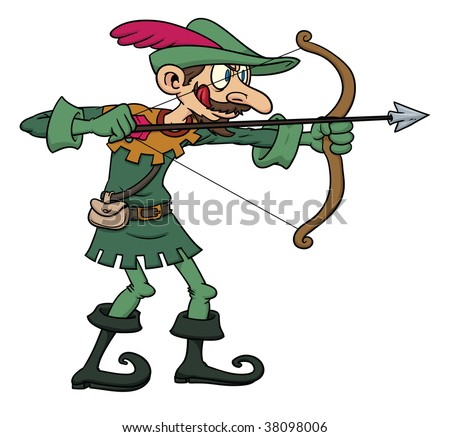 Robin Hood Cartoon Character