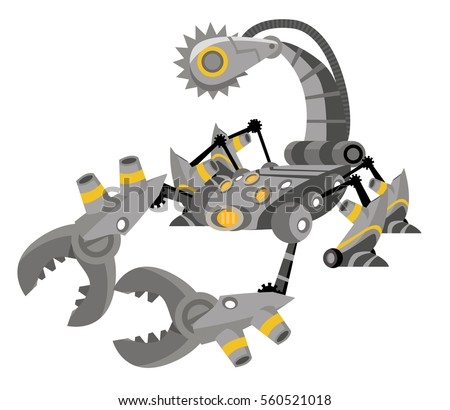 robot battle scorpion
