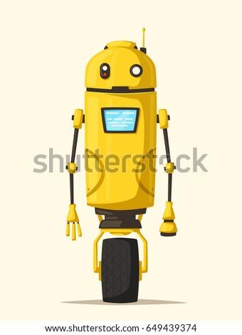 robot character technology