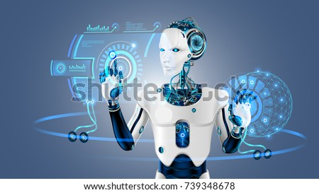 robot cybernetic organism works