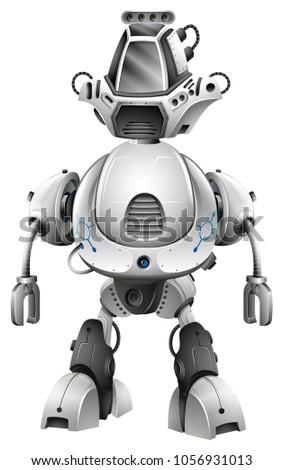robot design with big body