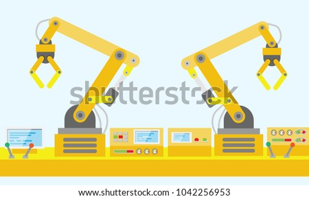 robot mechanical arm and