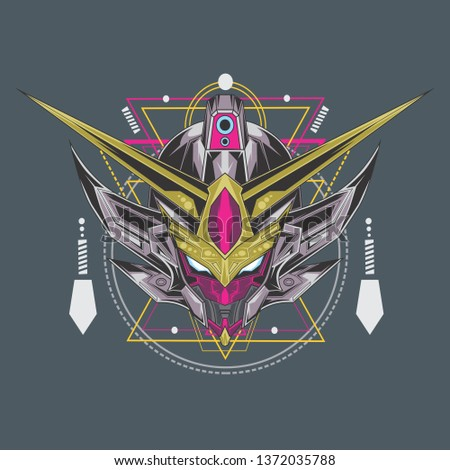 robot vector design
