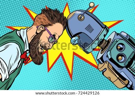 robot vs human  humanity and