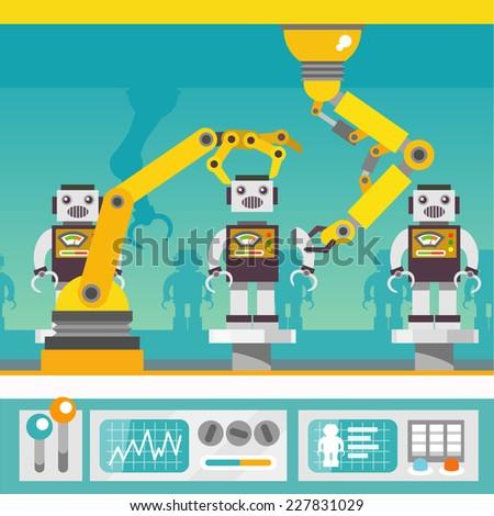 robotic arm mechanic equipment