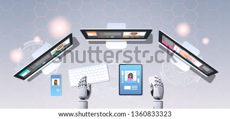 robotic hands using digital