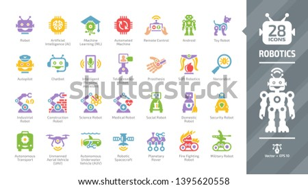 Personal robot Newest Royalty-Free Vectors   Imageric com
