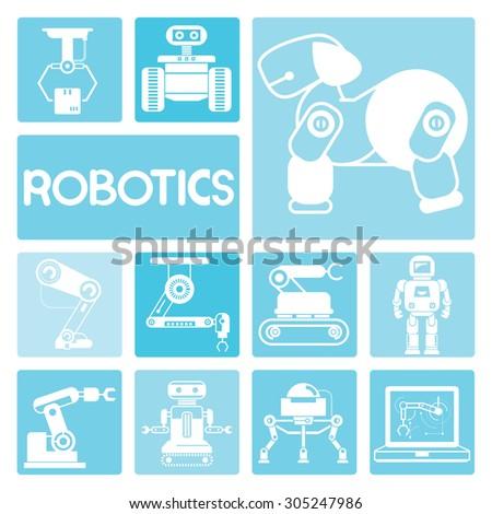 robotics technology concept
