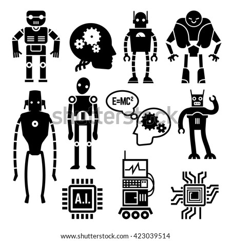 robots and cyborgs  androids