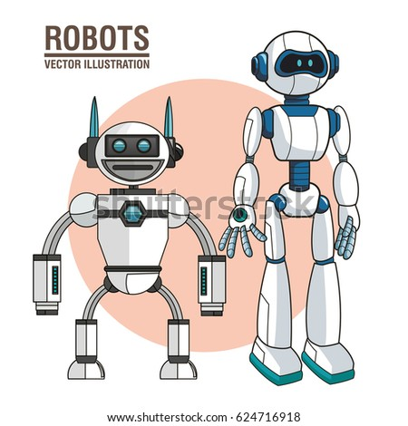 robots android modern technology