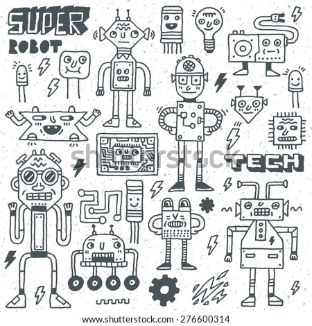 robots electrical  circuits