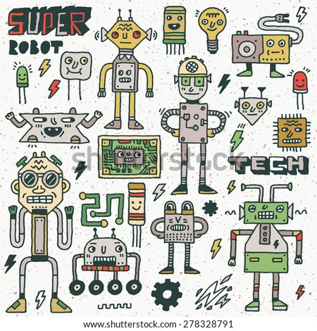 robots electrical  circuits