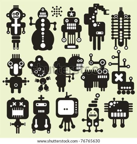 robots  monsters  aliens